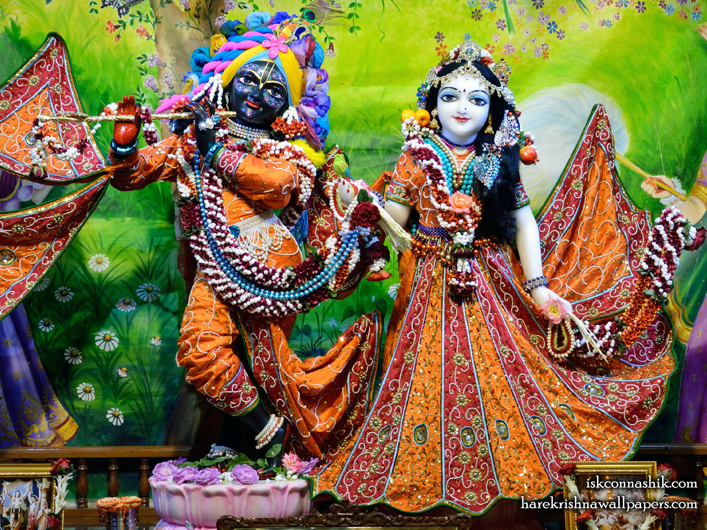 Sri Sri Radha Madan Gopal Wallpaper (024) Size 2400x1800 Download