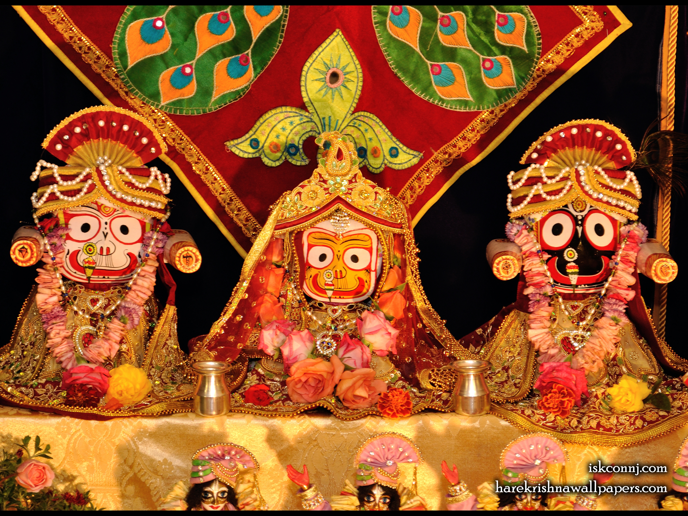 Jagannath Baladeva Subhadra Wallpaper (001) Size 2400x1800 Download