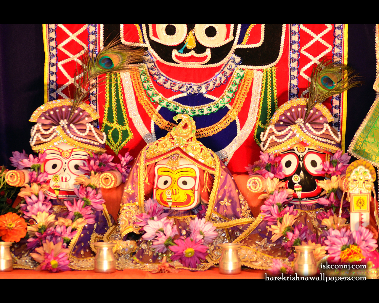 Jagannath Baladeva Subhadra Wallpaper (002) Size 1280x1024 Download