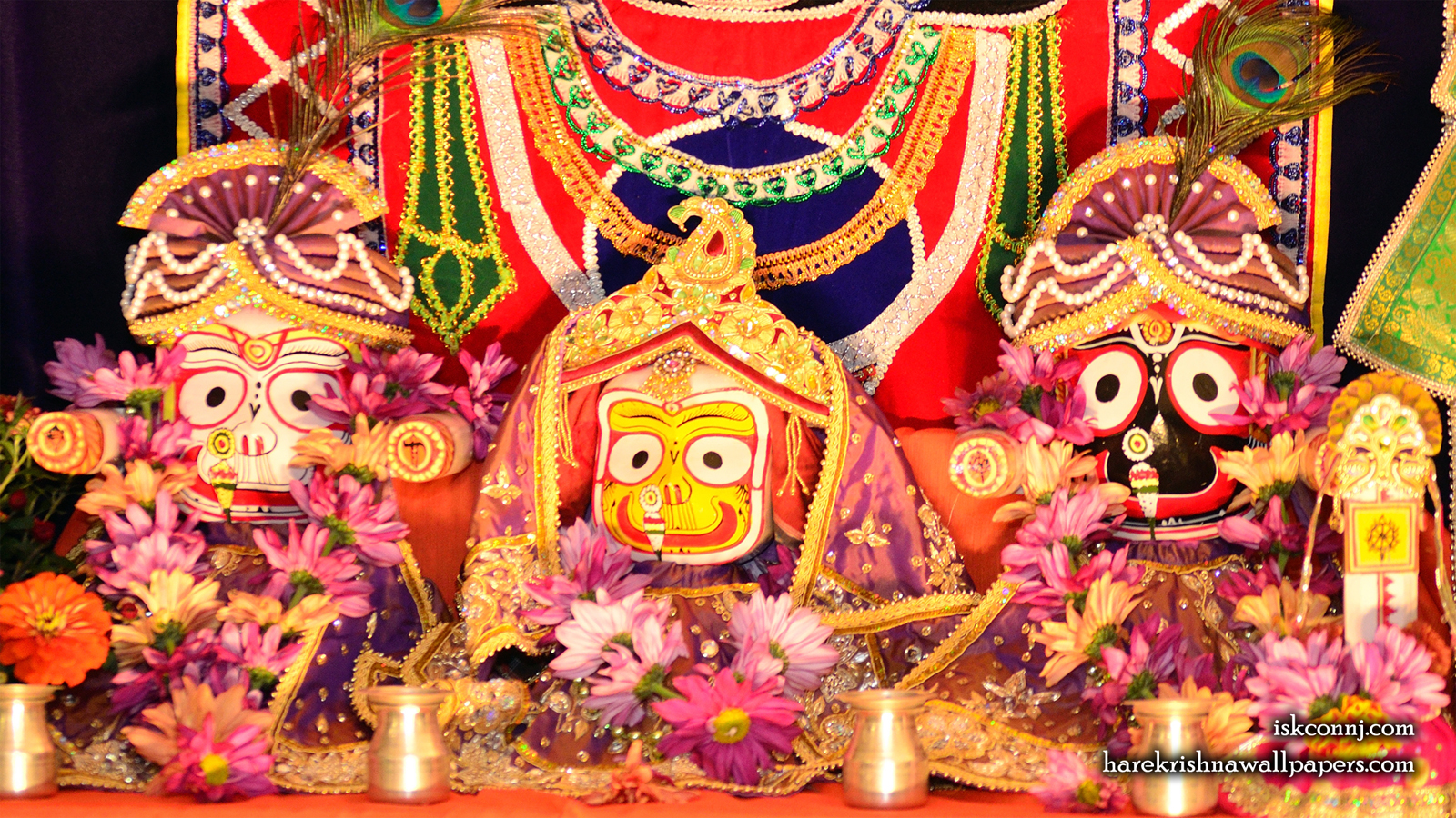 Jagannath Baladeva Subhadra Wallpaper (002) Size 1600x900 Download