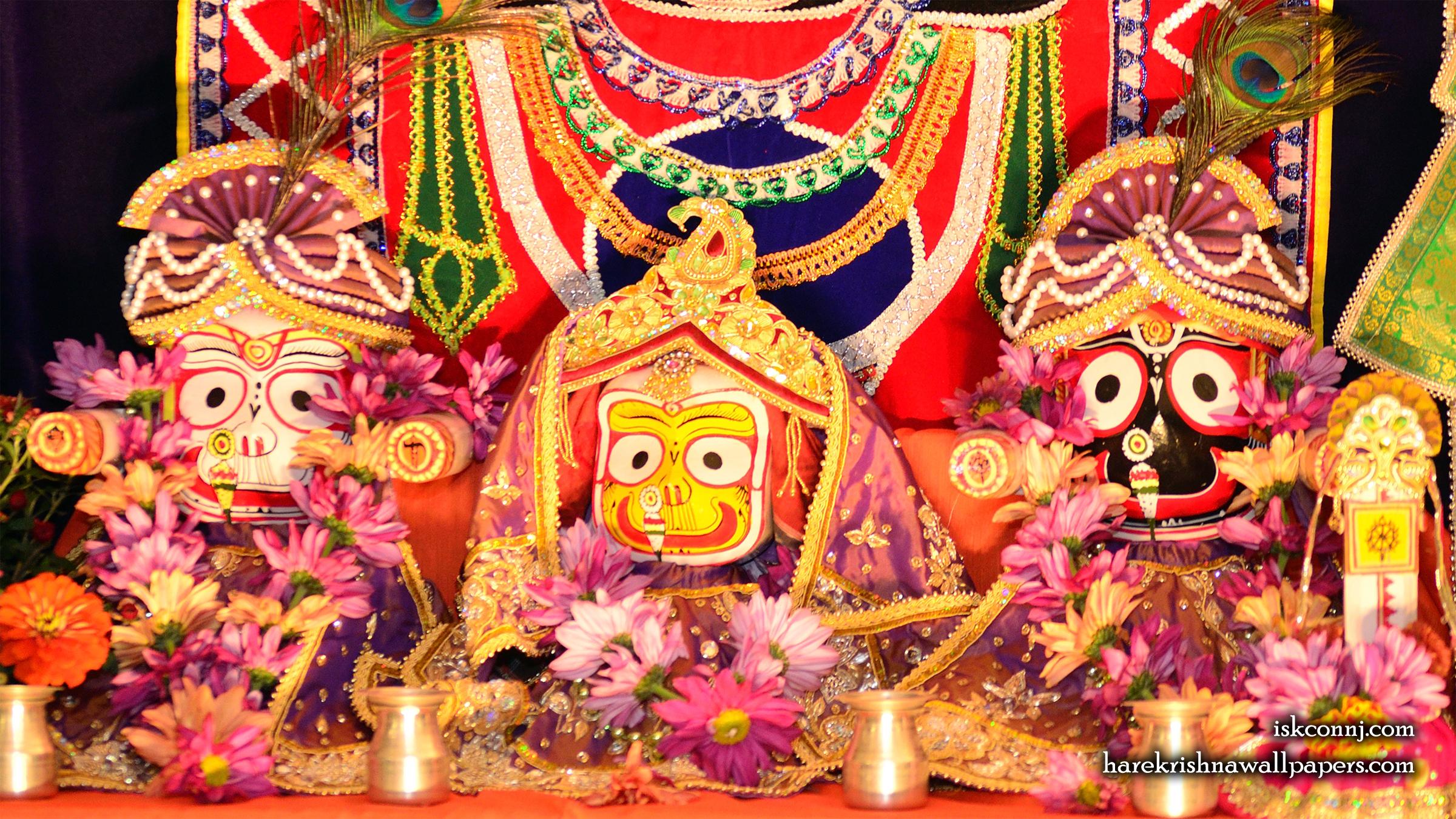 Jagannath Baladeva Subhadra Wallpaper (002) Size 2400x1350 Download