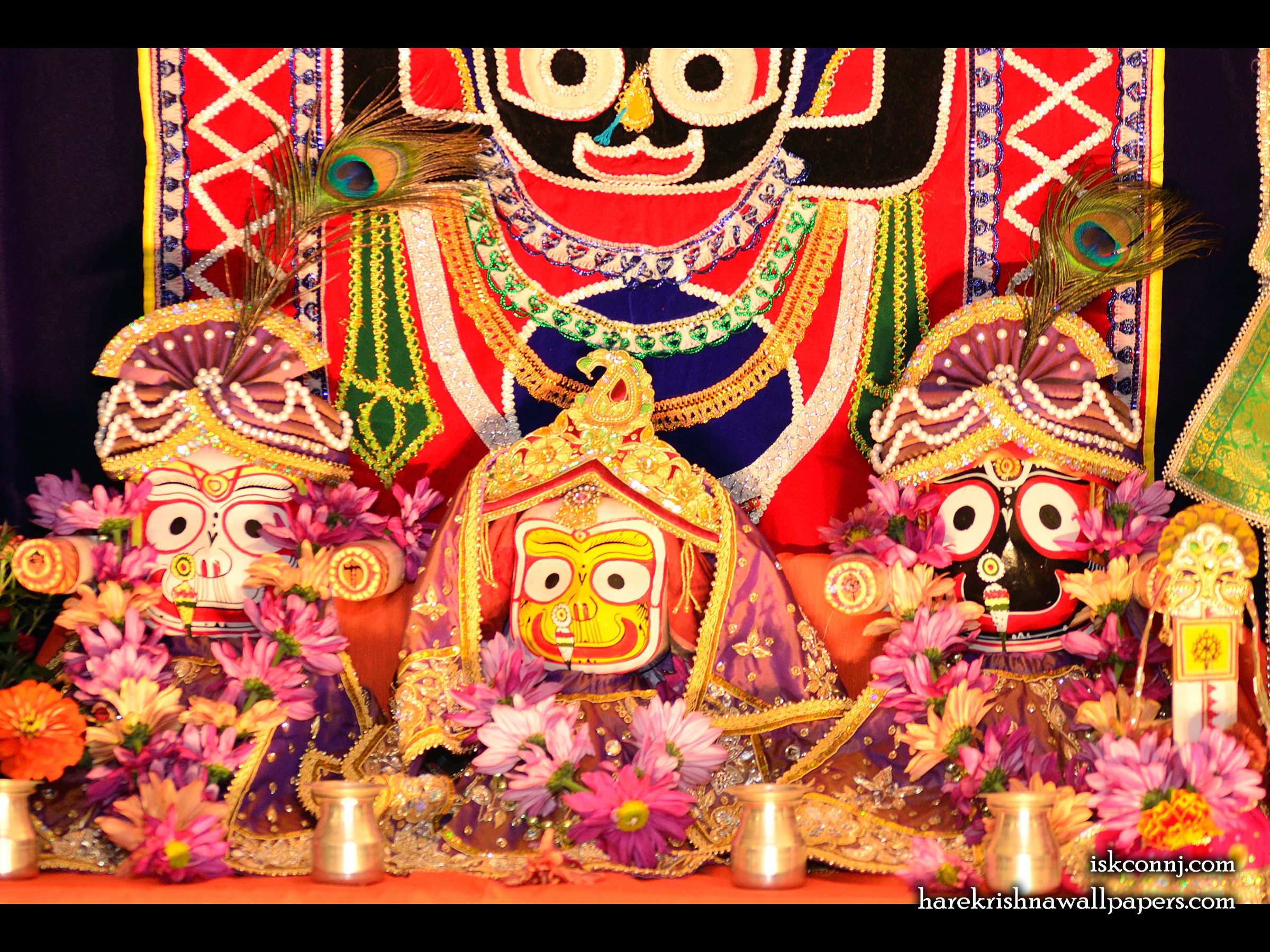 Jagannath Baladeva Subhadra Wallpaper (002) Size 2400x1800 Download