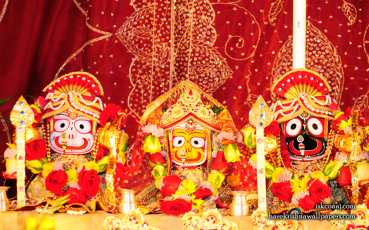 Jagannath Baladeva Subhadra Wallpaper (004) Size 1280x800 Download