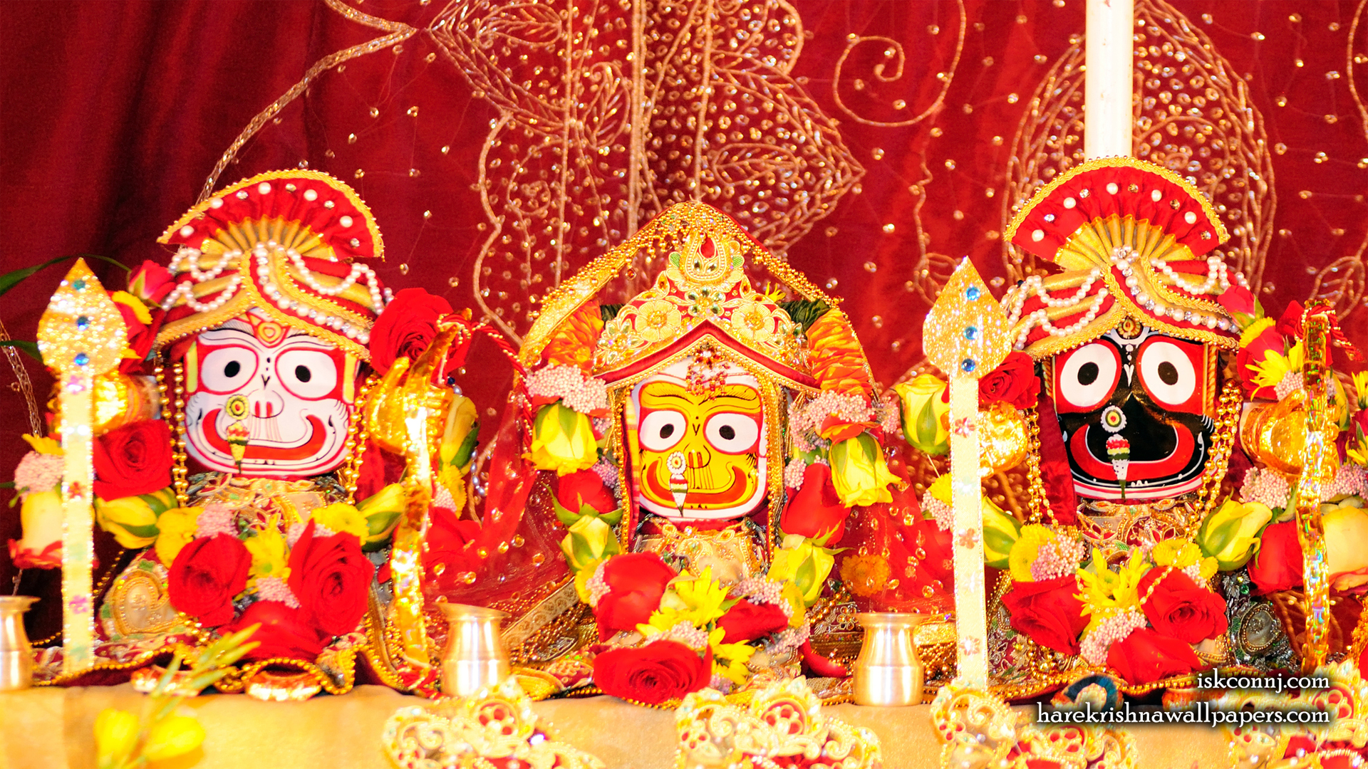 Jagannath Baladeva Subhadra Wallpaper (004) Size 1920x1080 Download