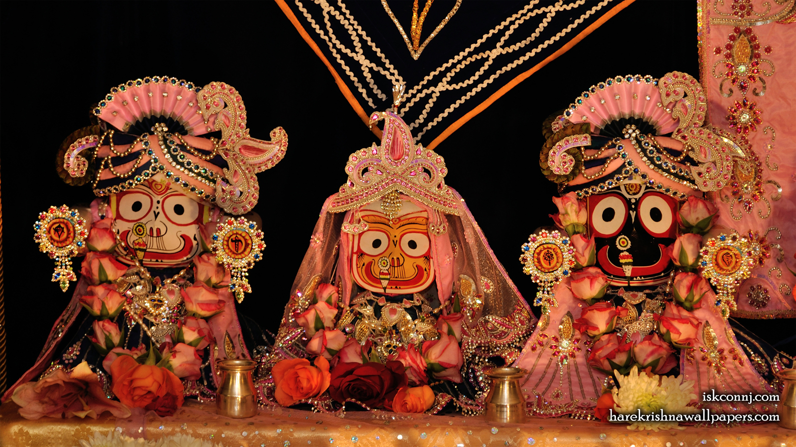 Jagannath Baladeva Subhadra Wallpaper (005) Size 1600x900 Download