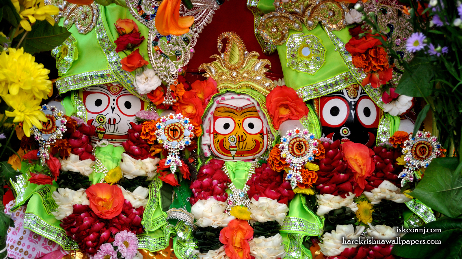 Jagannath Baladeva Subhadra Wallpaper (006) Size 1600x900 Download