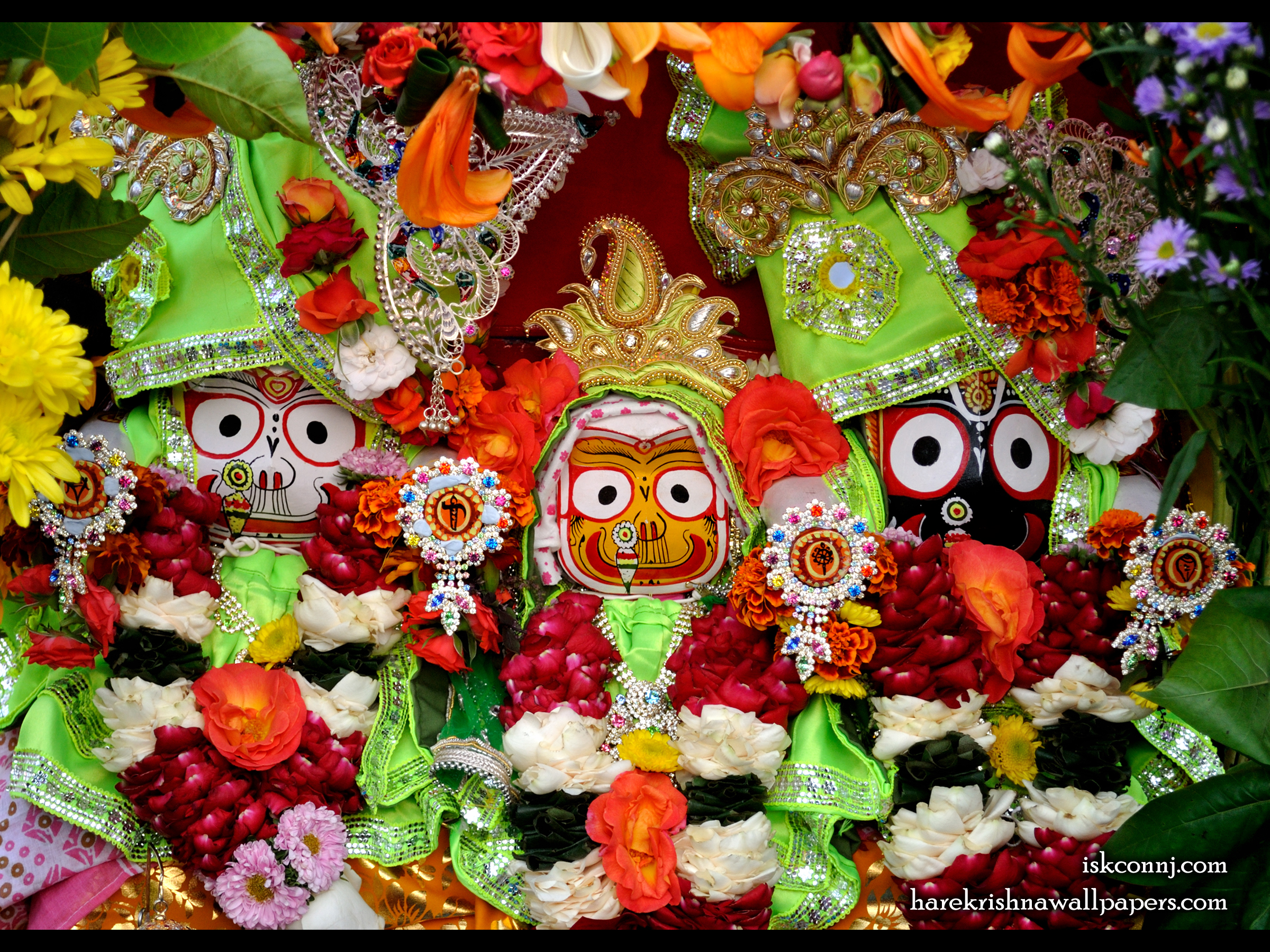 Jagannath Baladeva Subhadra Wallpaper (006) Size 2400x1800 Download
