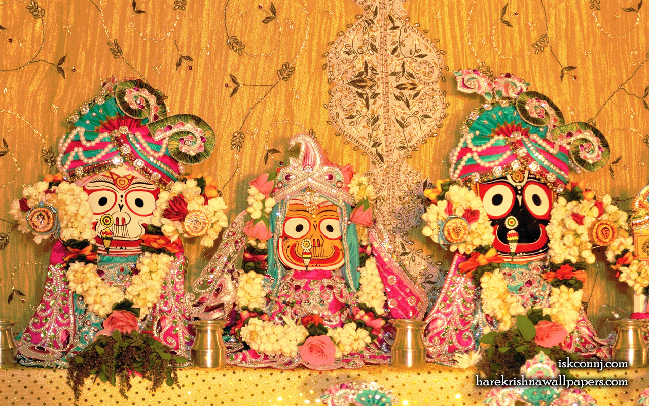 Jagannath Baladeva Subhadra Wallpaper (008) Size 1280x800 Download