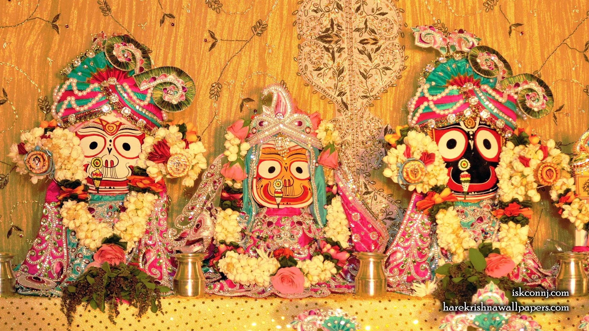 Jagannath Baladeva Subhadra Wallpaper (008) Size 1920x1080 Download