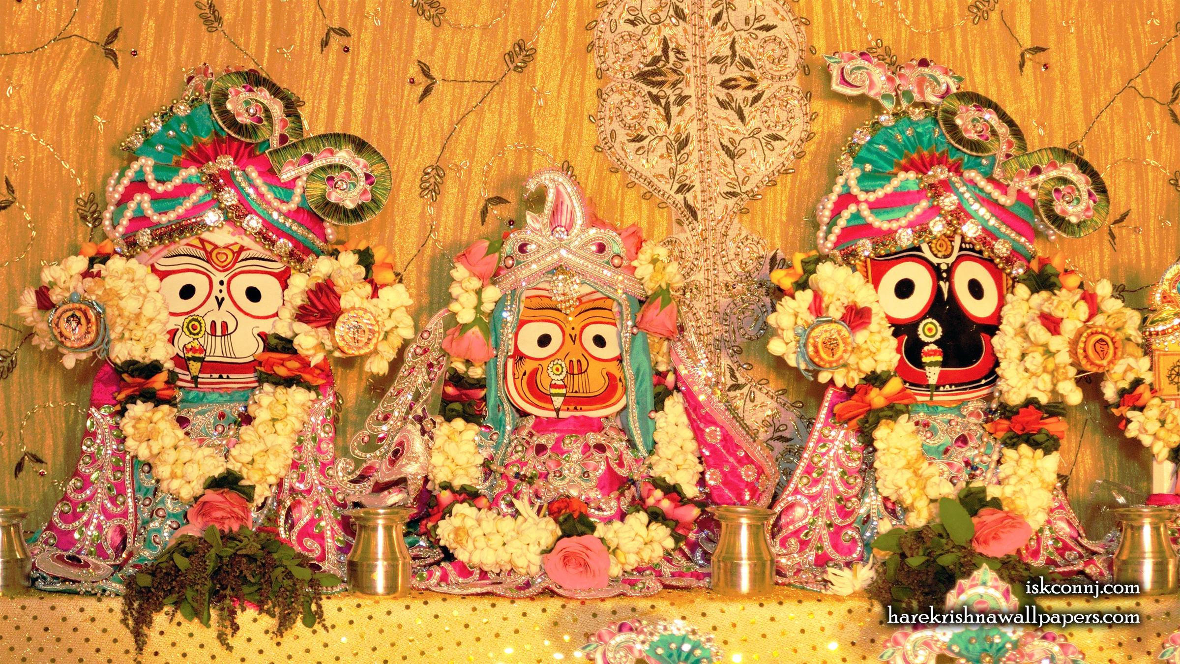 Jagannath Baladeva Subhadra Wallpaper (008) Size 2400x1350 Download
