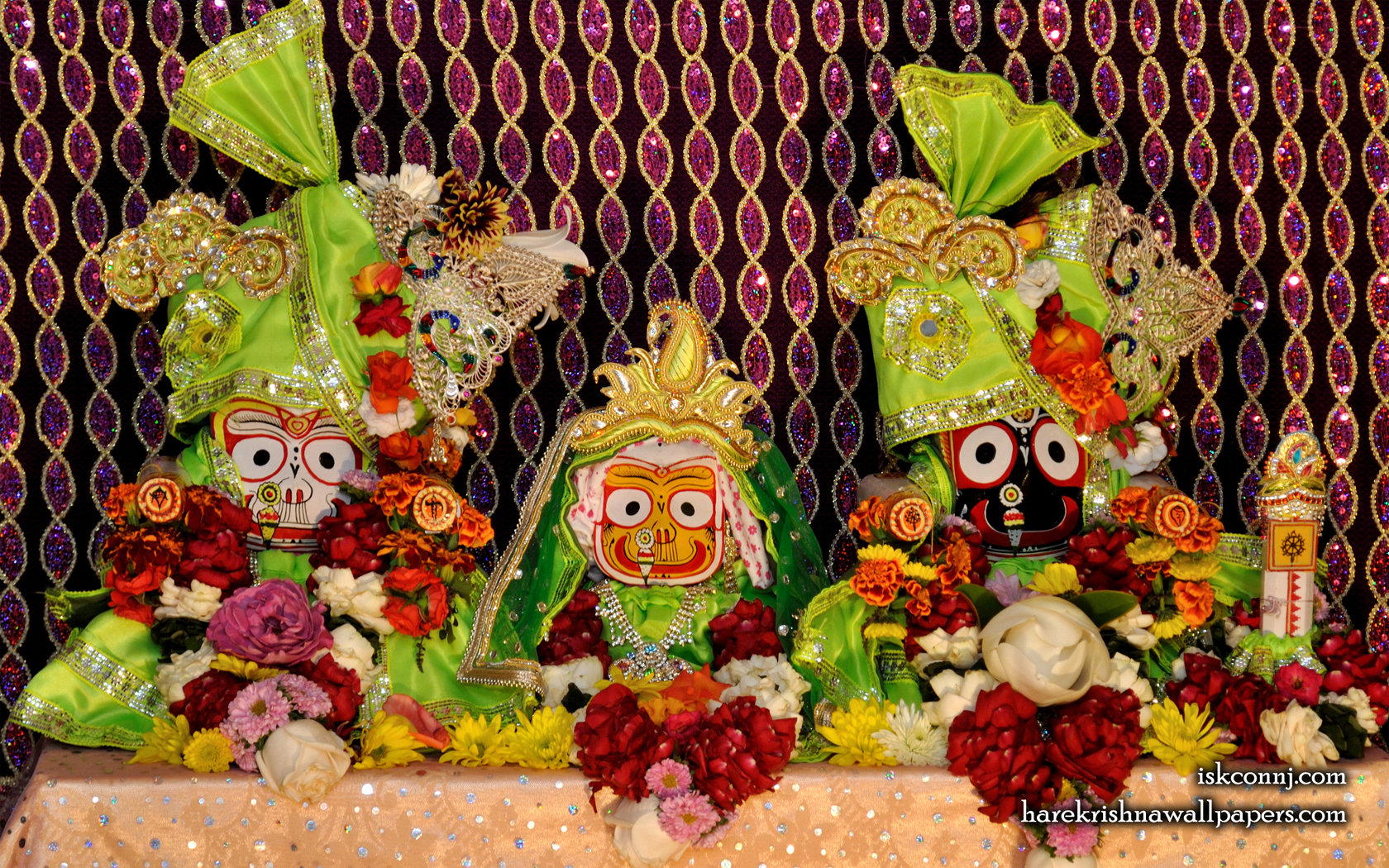 Jagannath Baladeva Subhadra Wallpaper (009) Size 1680x1050 Download