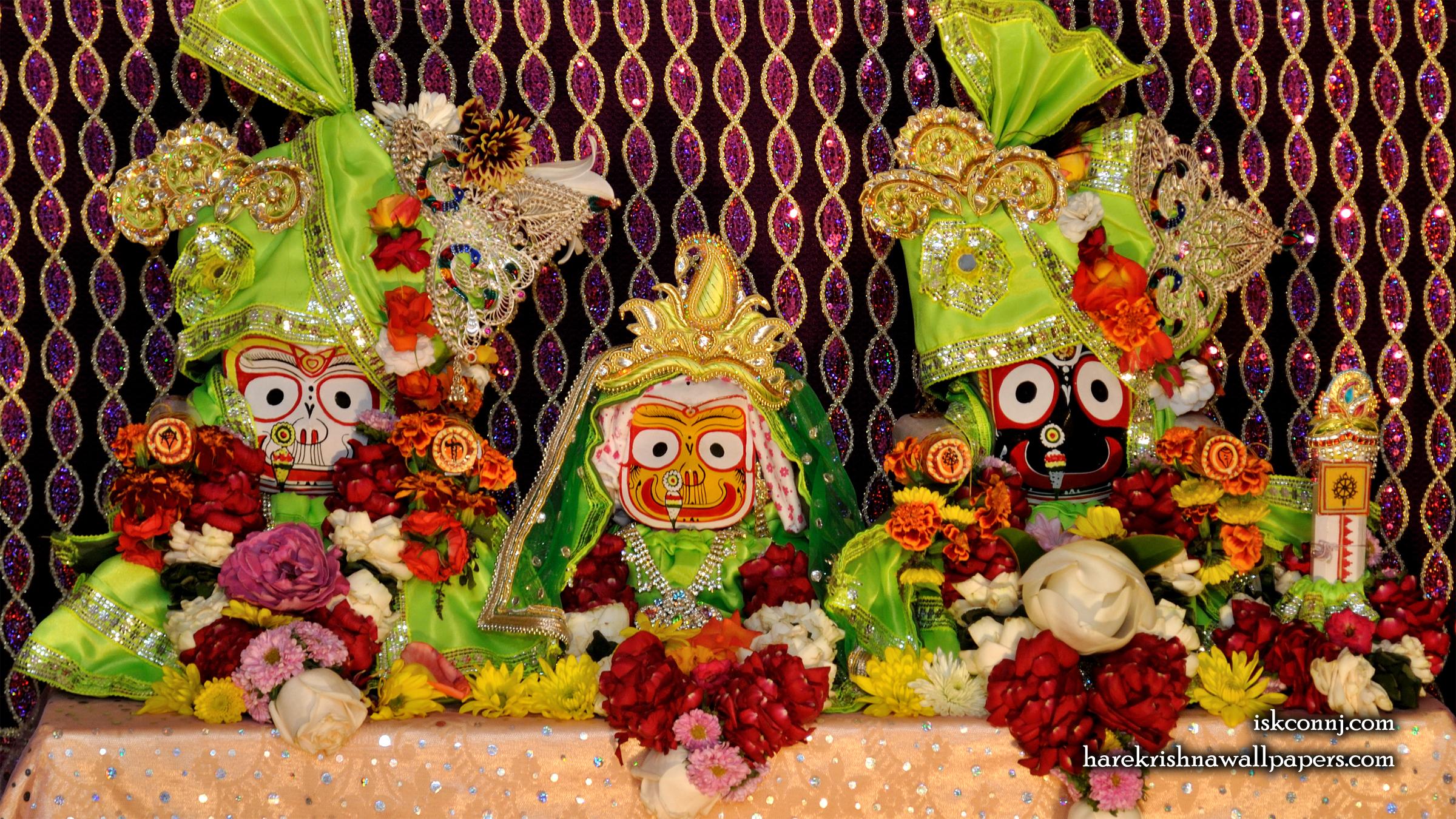 Jagannath Baladeva Subhadra Wallpaper (009) Size 2400x1350 Download