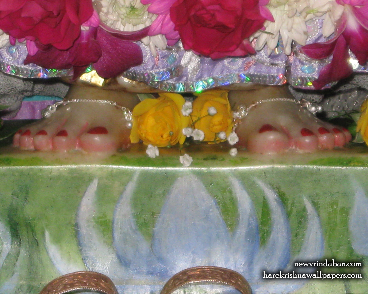Sri Radha Feet Wallpaper (001) Size 1280x1024 Download