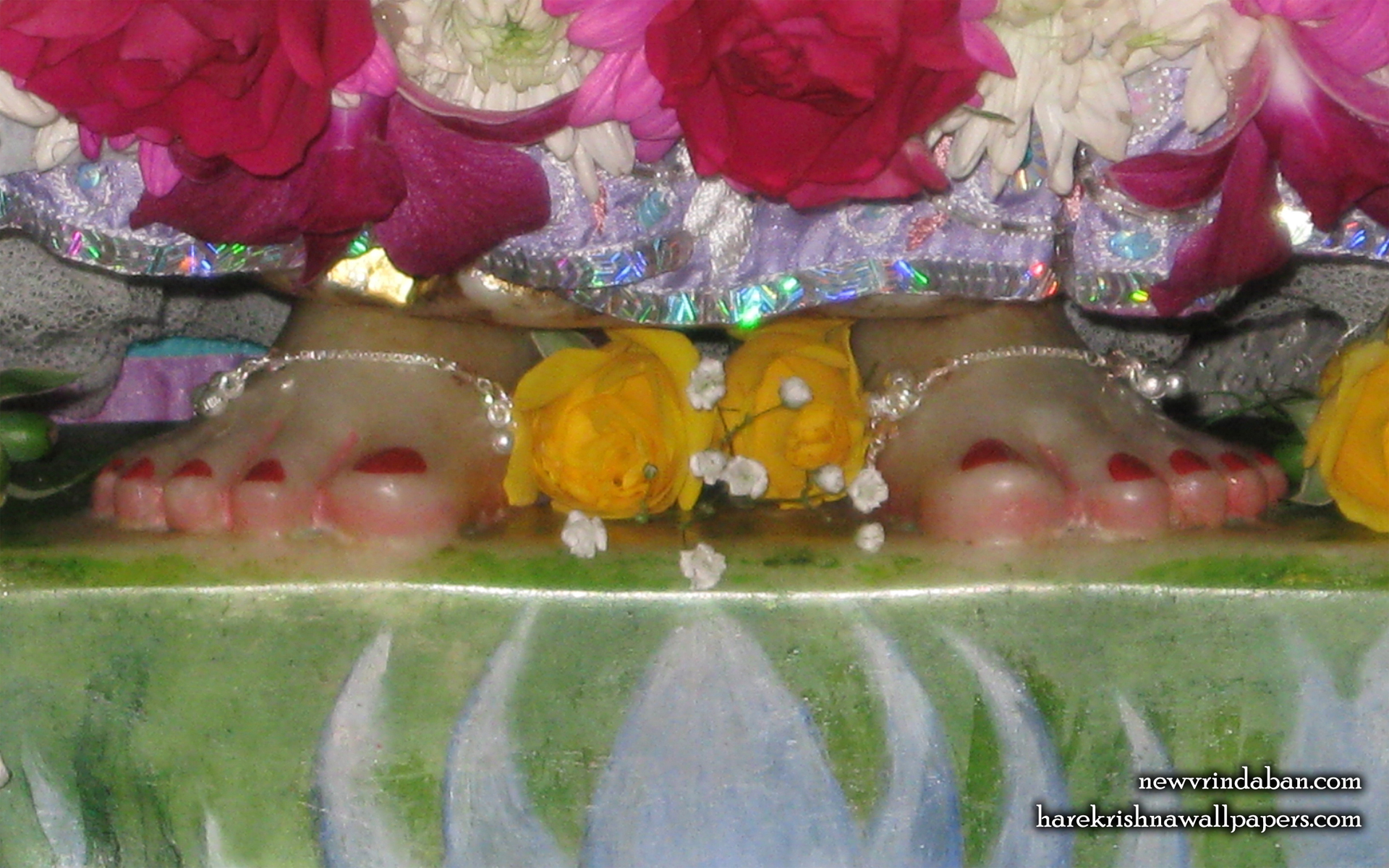 Sri Radha Feet Wallpaper (001) Size 1920x1200 Download