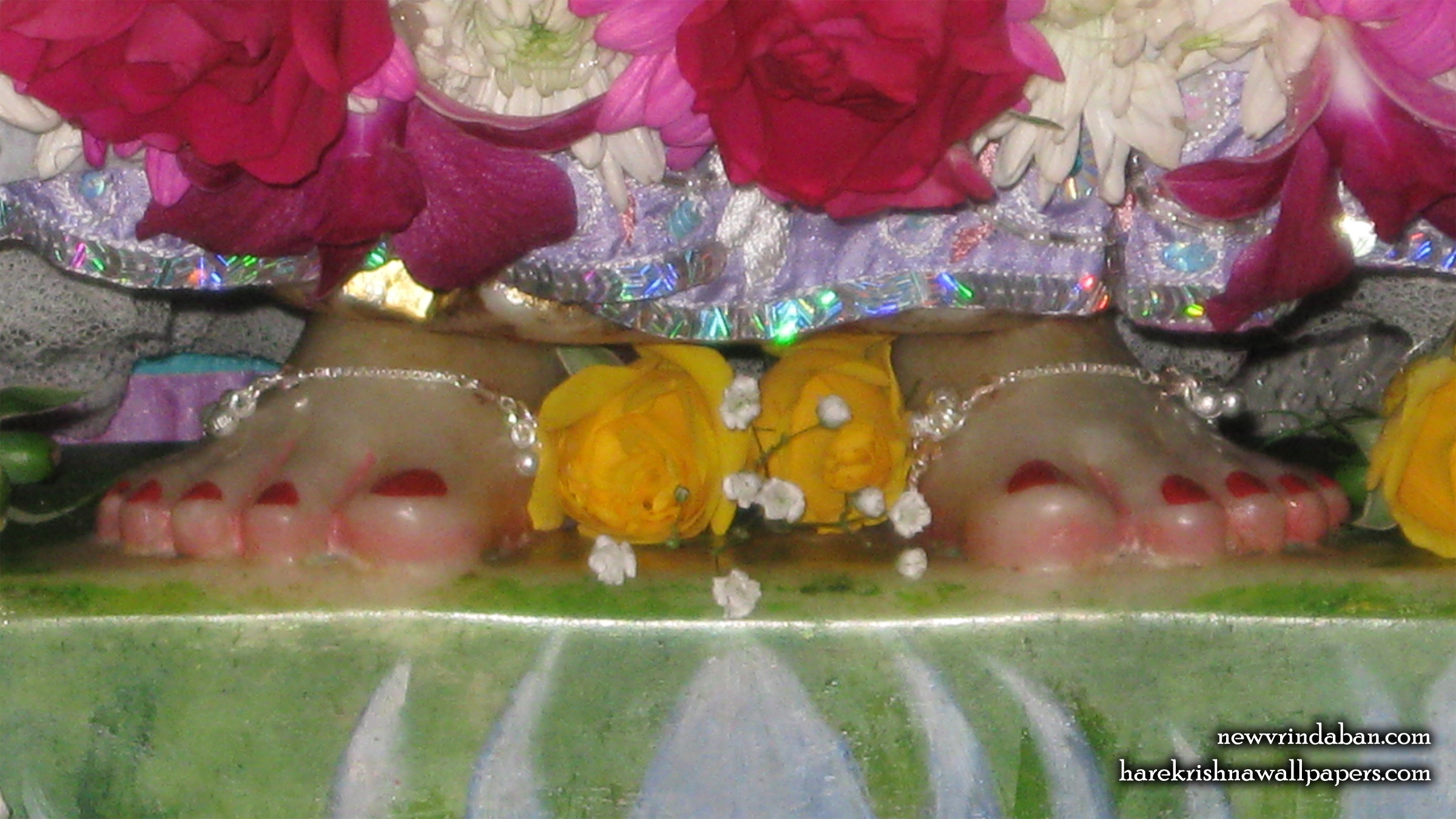 Sri Radha Feet Wallpaper (001) Size 2400x1350 Download