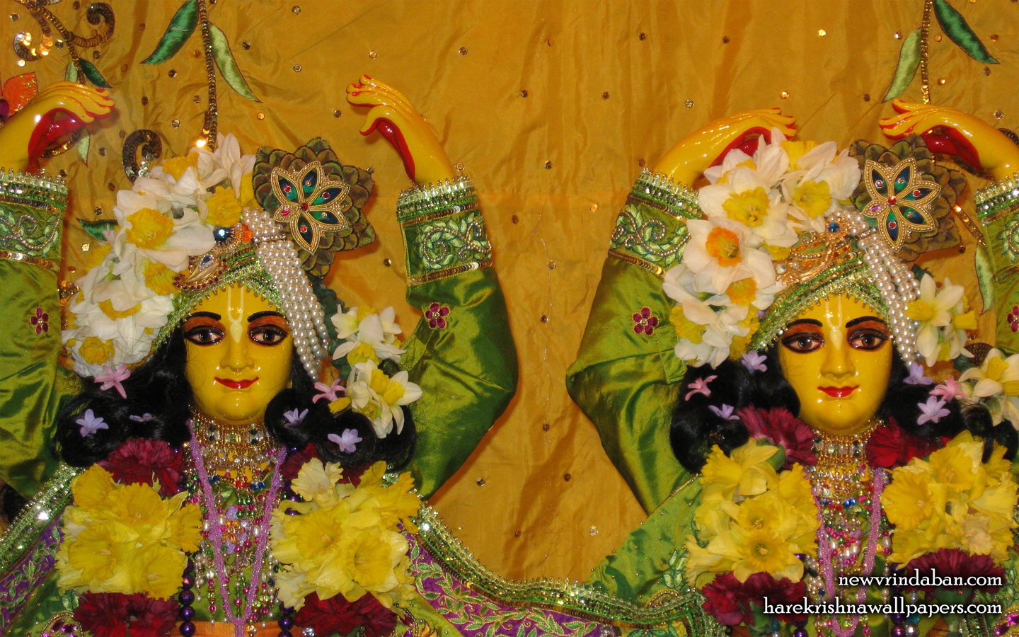 Sri Sri Gaura Nitai Close up Wallpaper (001) Size 1440x900 Download