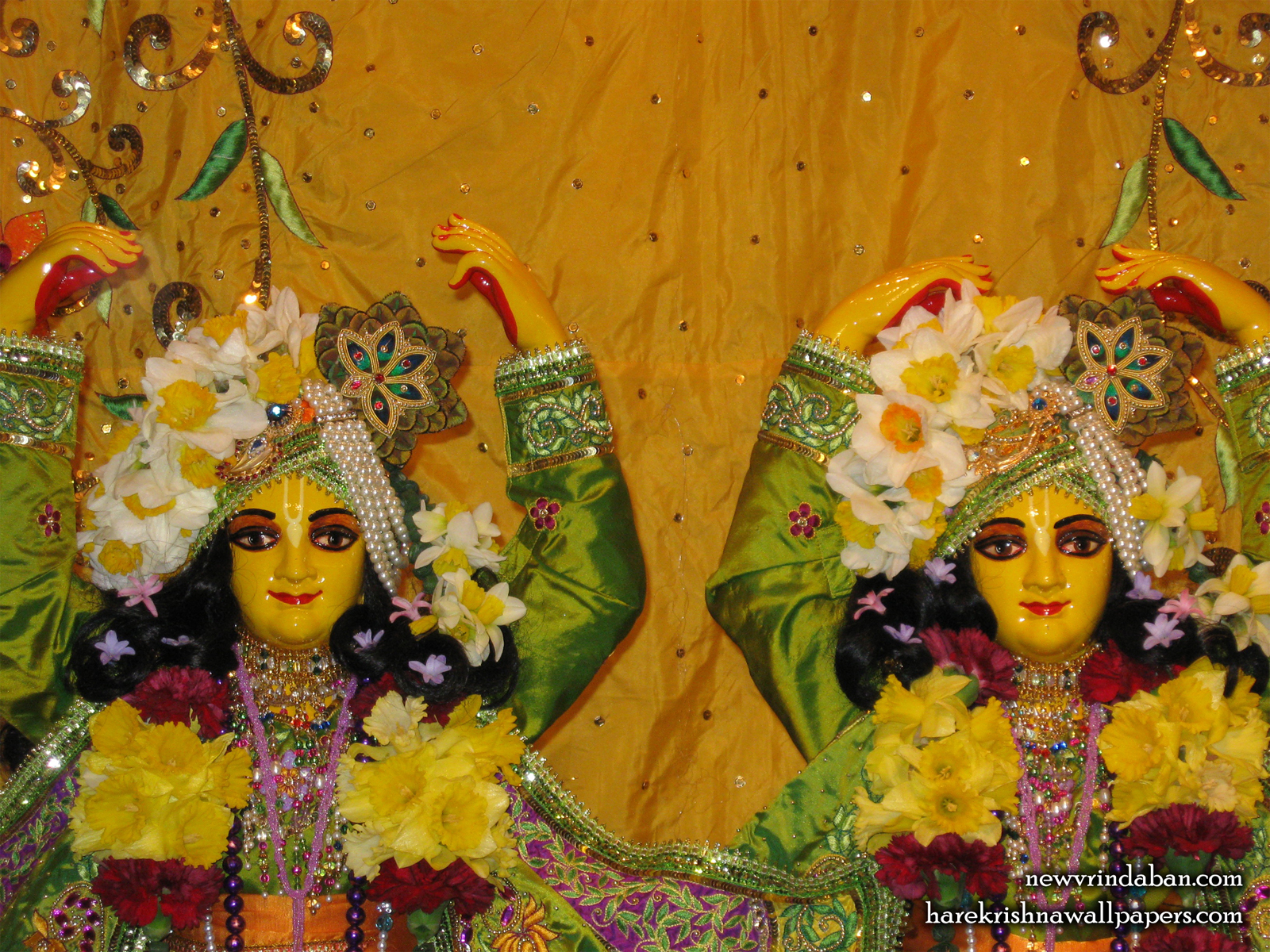 Sri Sri Gaura Nitai Close up Wallpaper (001) Size1600x1200 Download