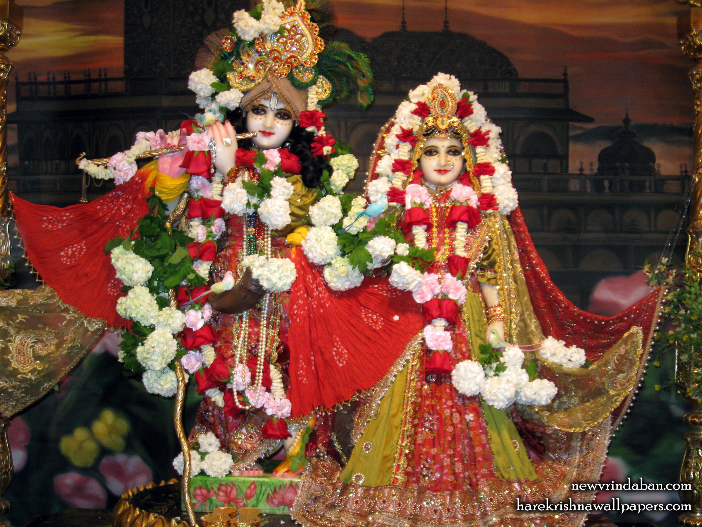 Sri Sri Radha Vrindavana Chandra Wallpaper (001) Size 2400x1800 Download