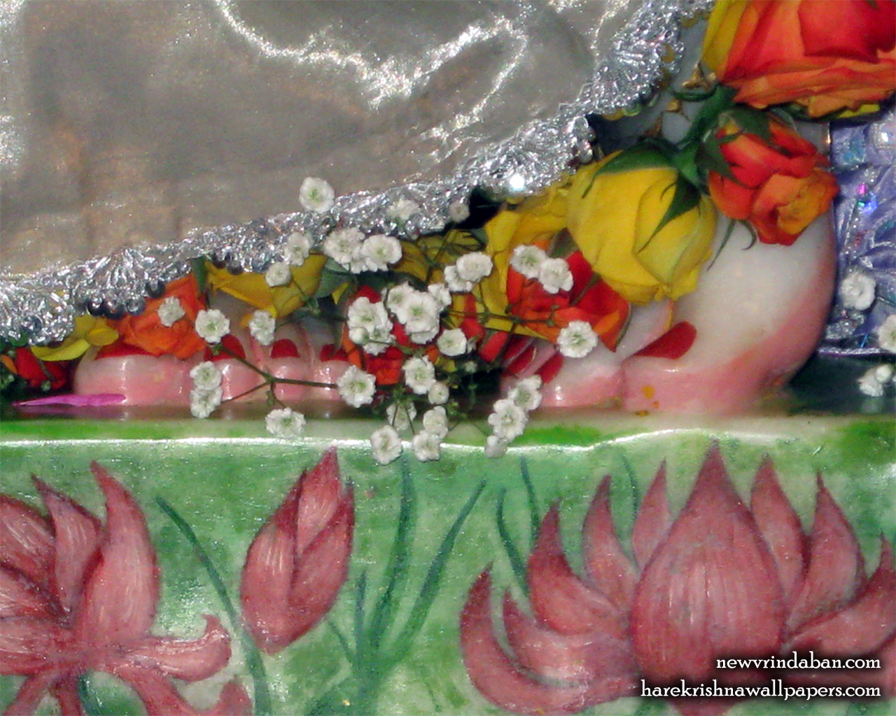 Sri Vrindavana Chandra Feet Wallpaper (001) Size 1280x1024 Download