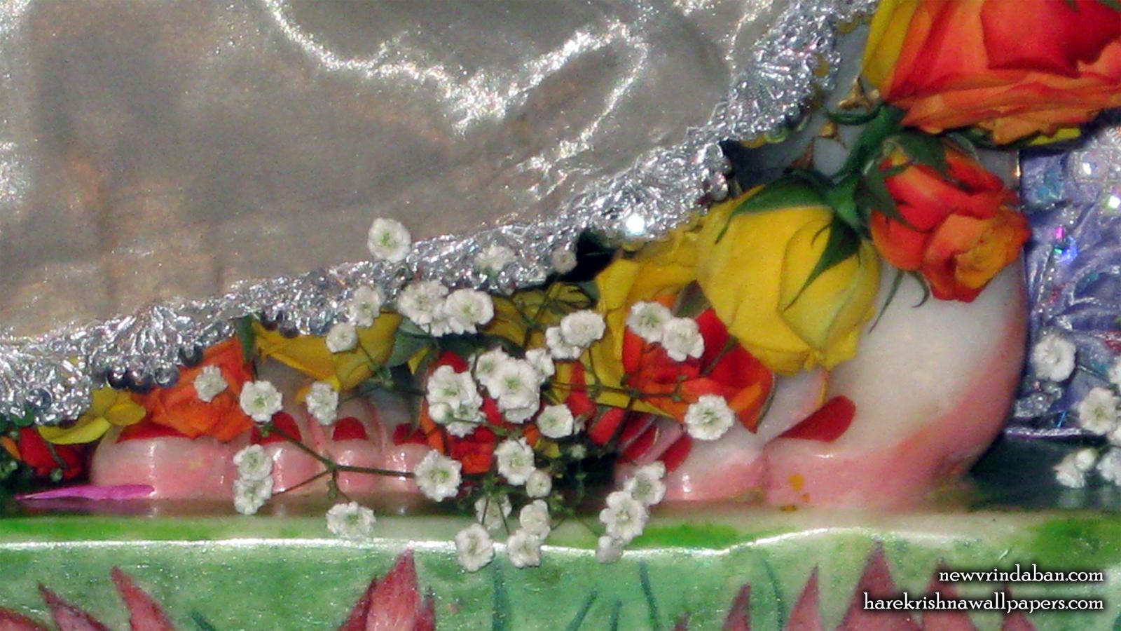 Sri Vrindavana Chandra Feet Wallpaper (001) Size 1600x900 Download