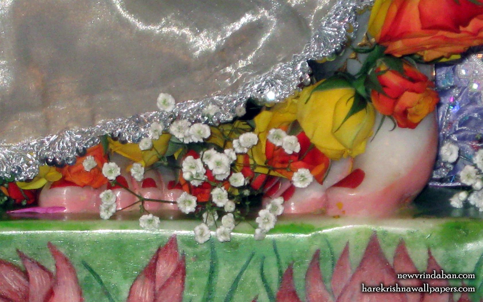 Sri Vrindavana Chandra Feet Wallpaper (001) Size 1680x1050 Download