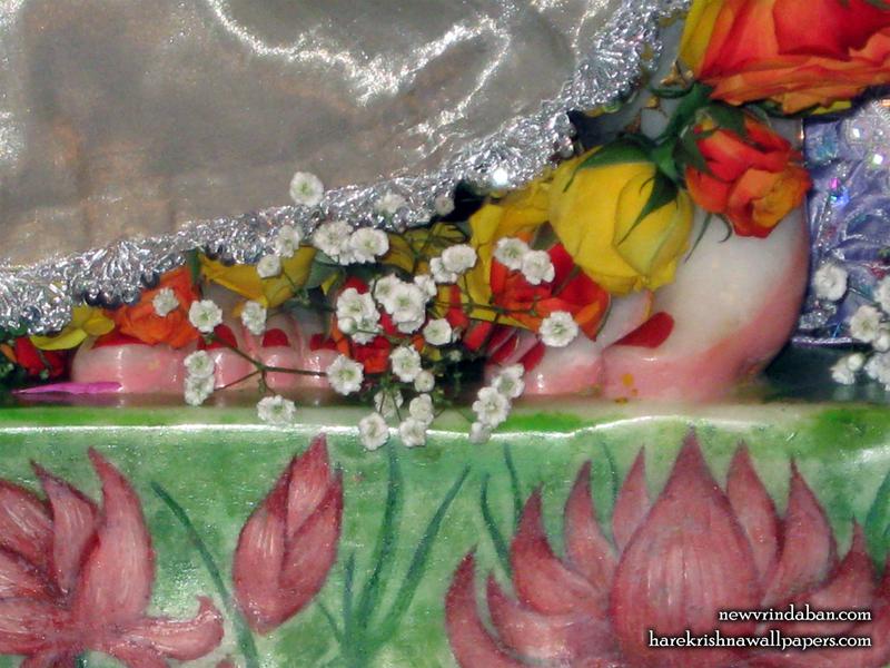 Sri Vrindavana Chandra Feet Wallpaper (001) Size 800x600 Download