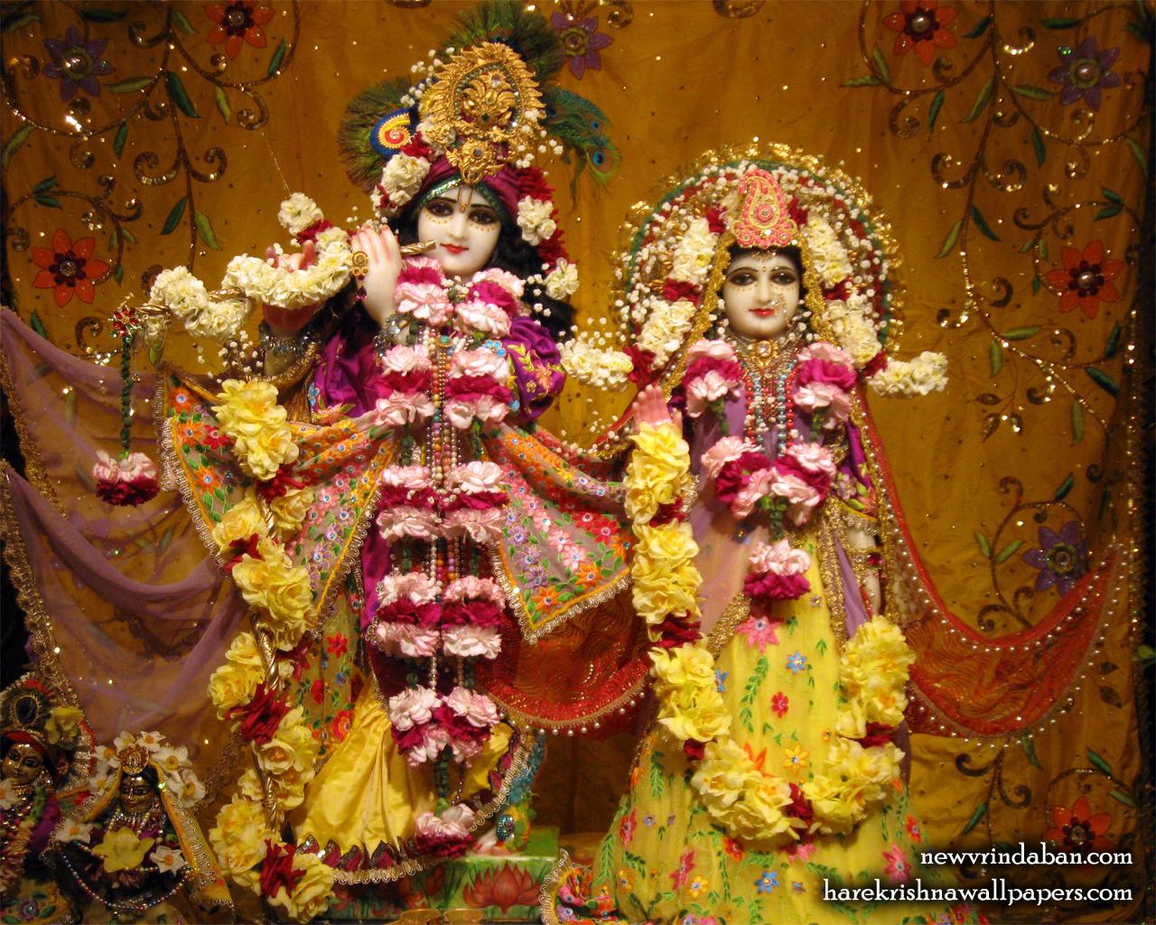 Sri Sri Radha Vrindavana Chandra Wallpaper (002) Size 1280x1024 Download