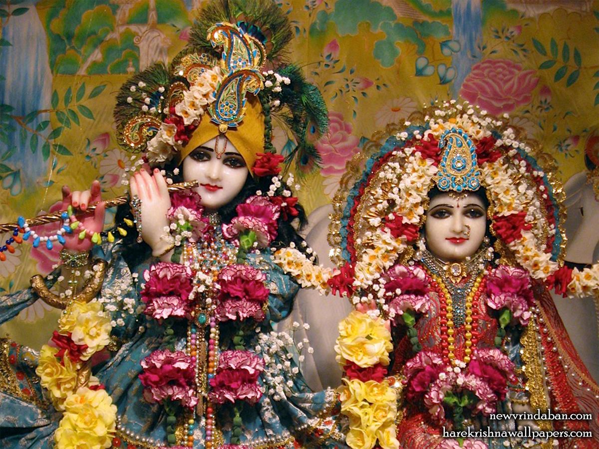 Sri Sri Radha Vrindavana Chandra Close up Wallpaper (002) Size1200x900 Download