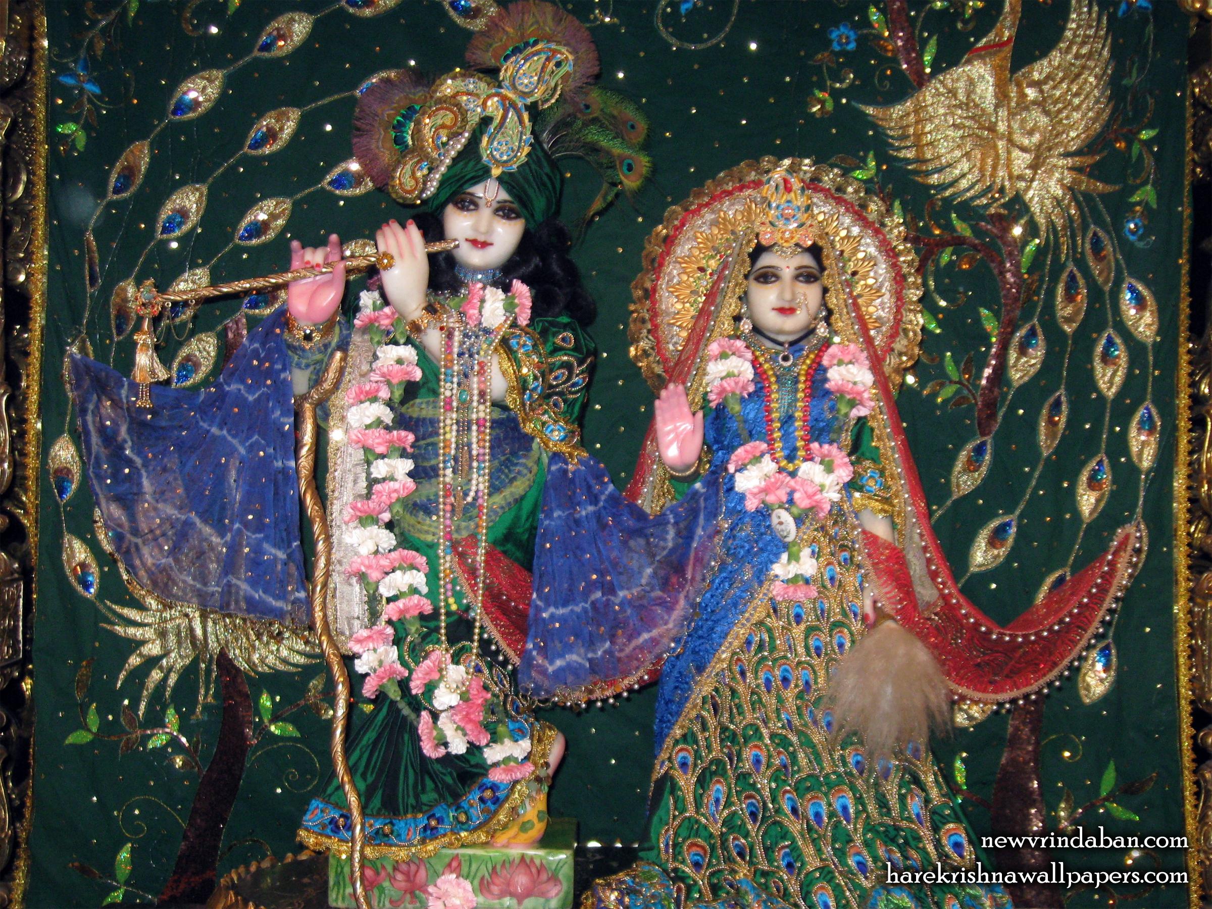 Sri Sri Radha Vrindavana Chandra Wallpaper (003) Size 2400x1800 Download