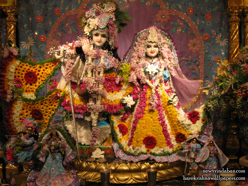 Sri Sri Radha Vrindavana Chandra Wallpaper (005) Size 1024x768 Download