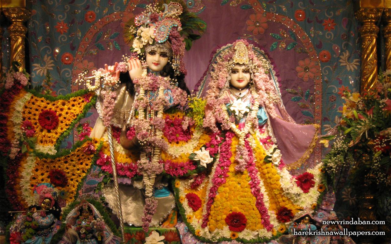 Sri Sri Radha Vrindavana Chandra Wallpaper (005) Size 1280x800 Download