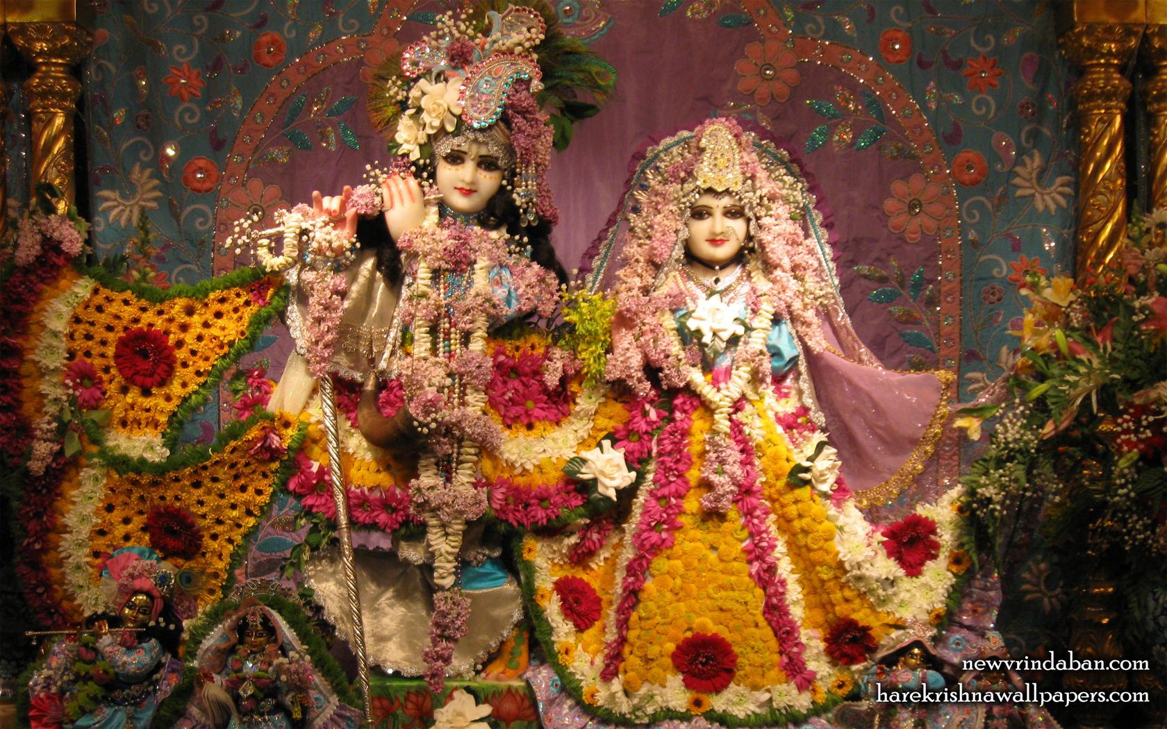 Sri Sri Radha Vrindavana Chandra Wallpaper (005) Size 1680x1050 Download