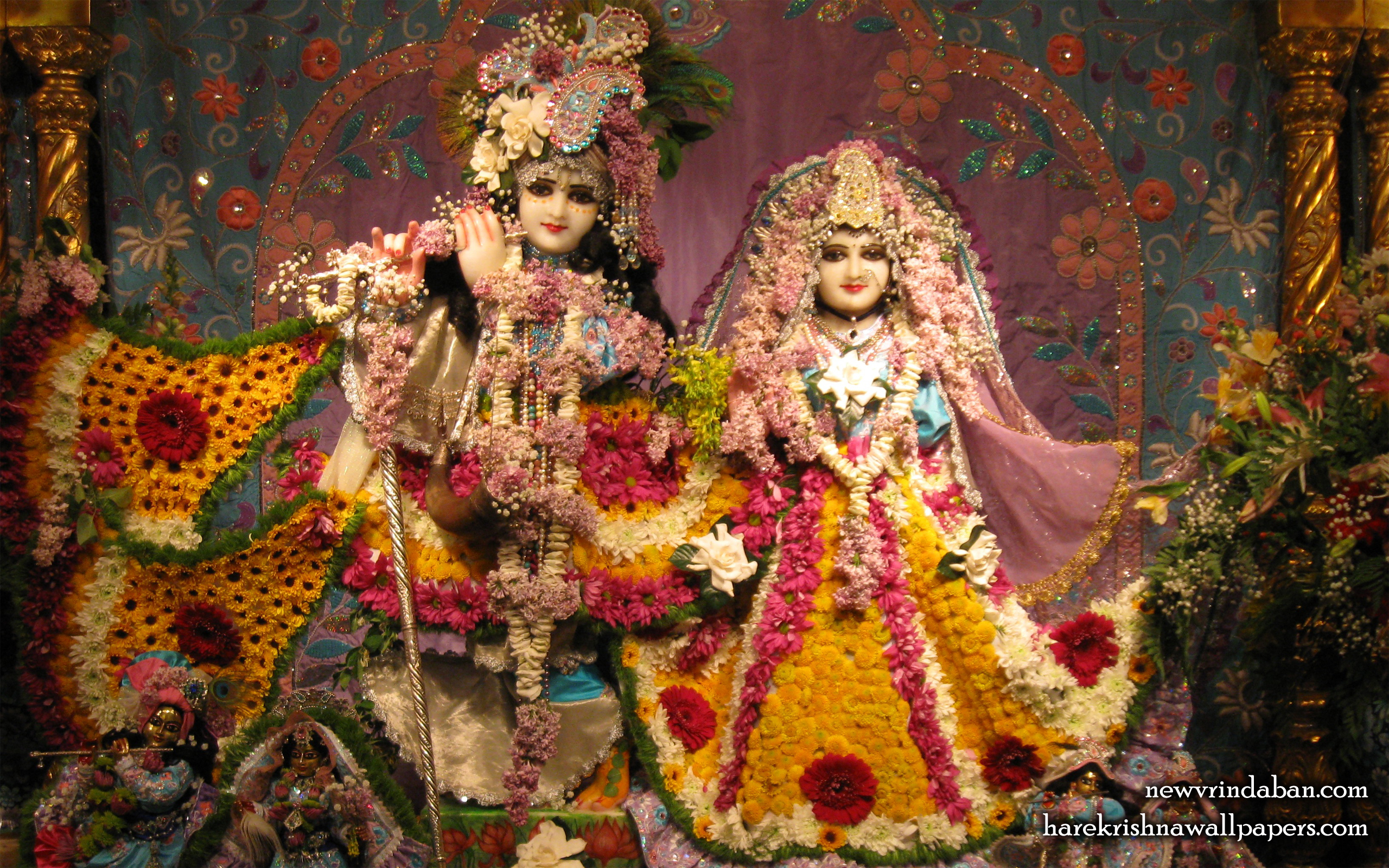 Sri Sri Radha Vrindavana Chandra Wallpaper (005) Size 2560x1600 Download