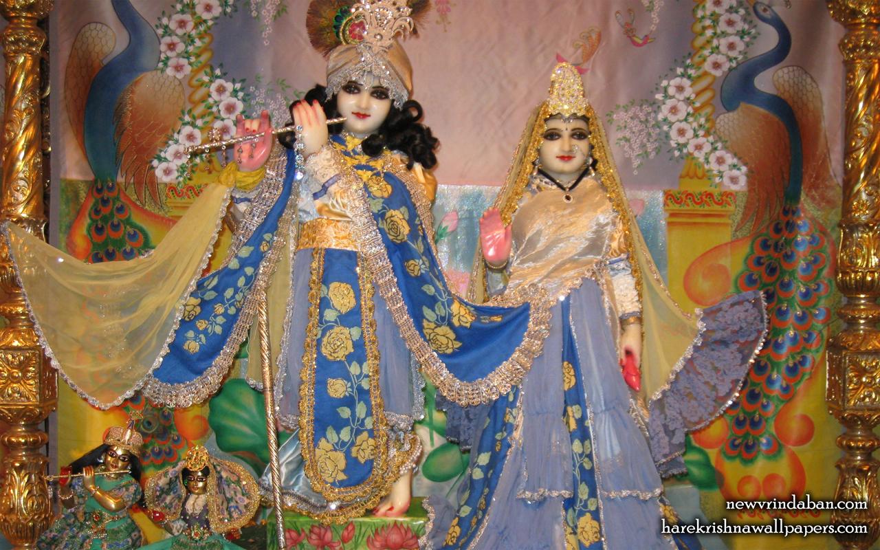 Sri Sri Radha Vrindavana Chandra Wallpaper (006) Size 1280x800 Download