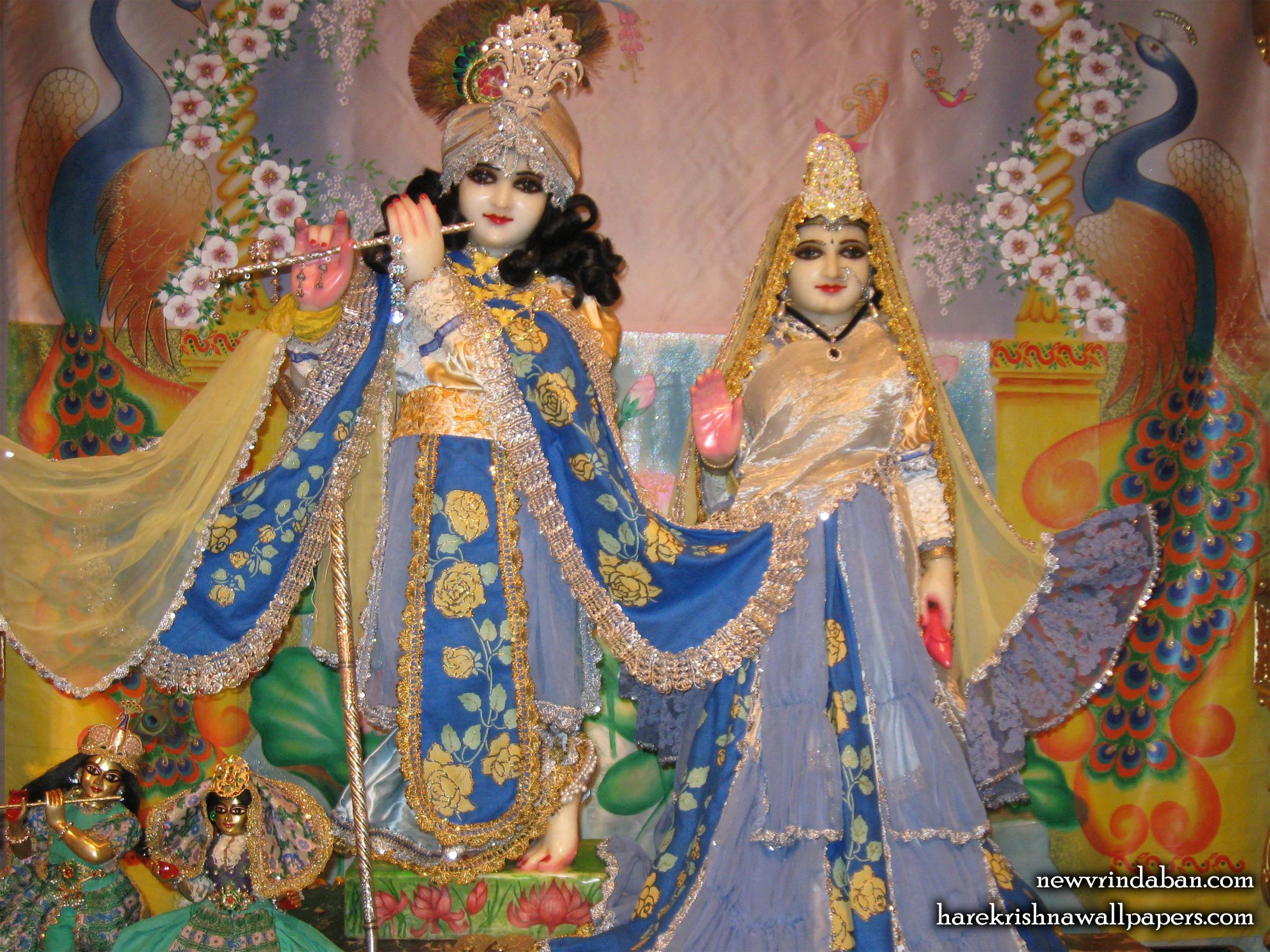 Sri Sri Radha Vrindavana Chandra Wallpaper (006) Size 2400x1800 Download