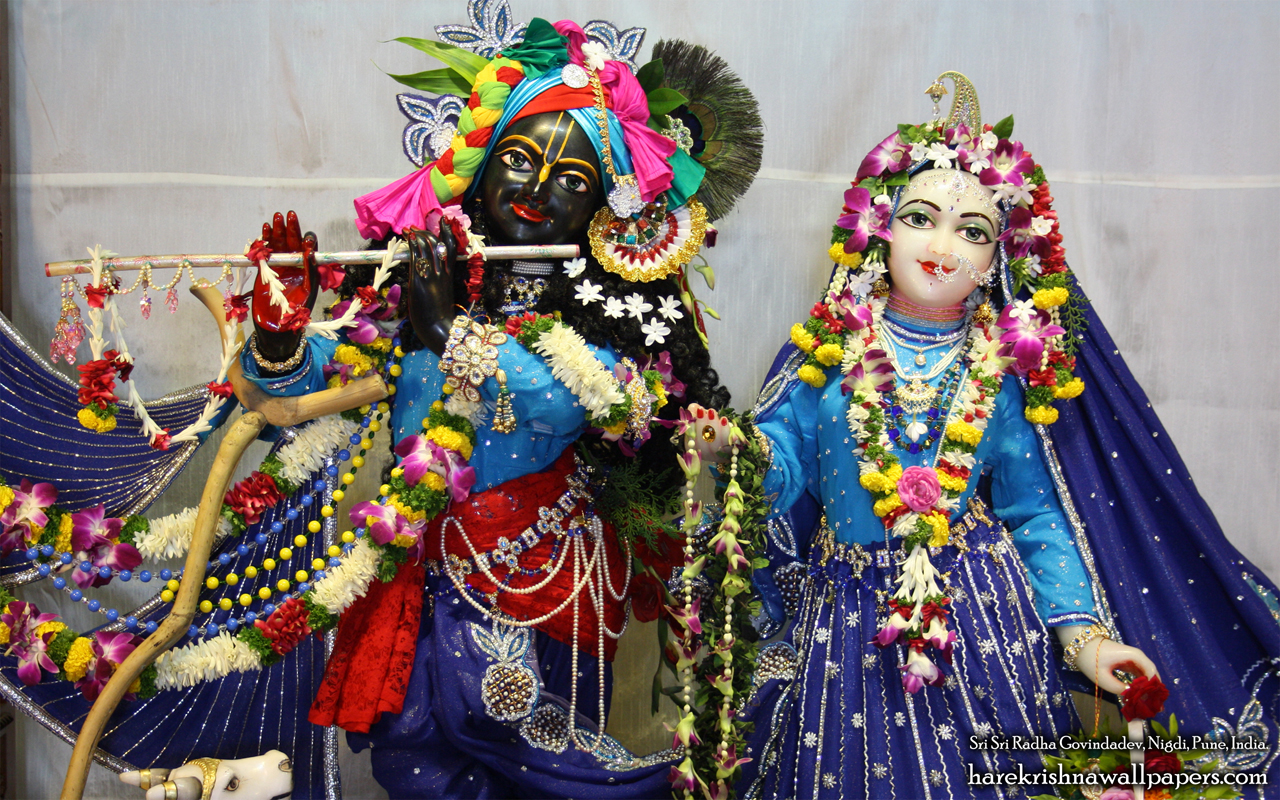 Sri Sri Radha Govind Close up Wallpaper (002) Size 1280x800 Download