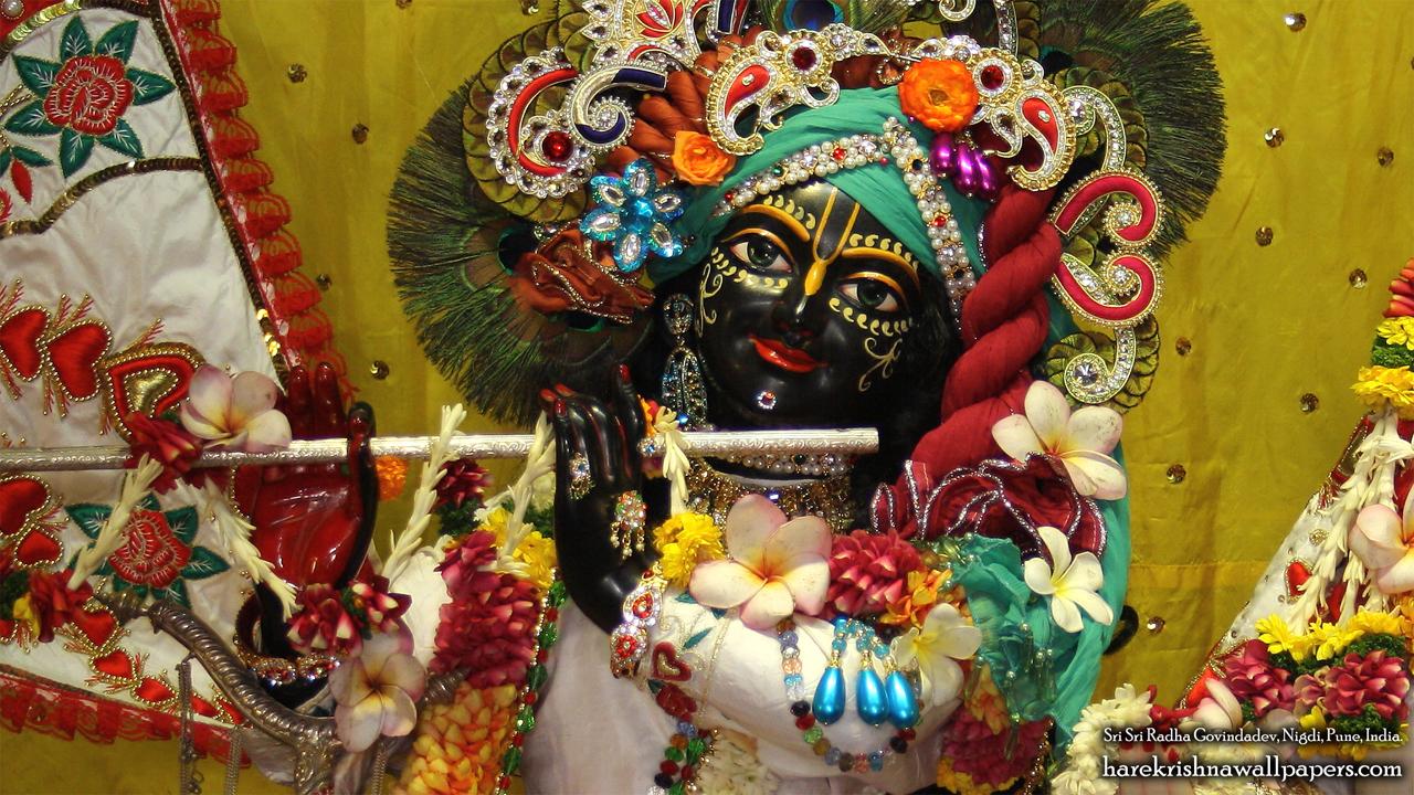 Sri Govind Close up Wallpaper (003) Size 1280x720 Download