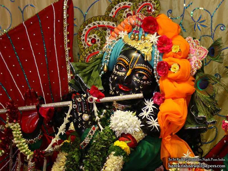 Sri Govind Close up Wallpaper (004)