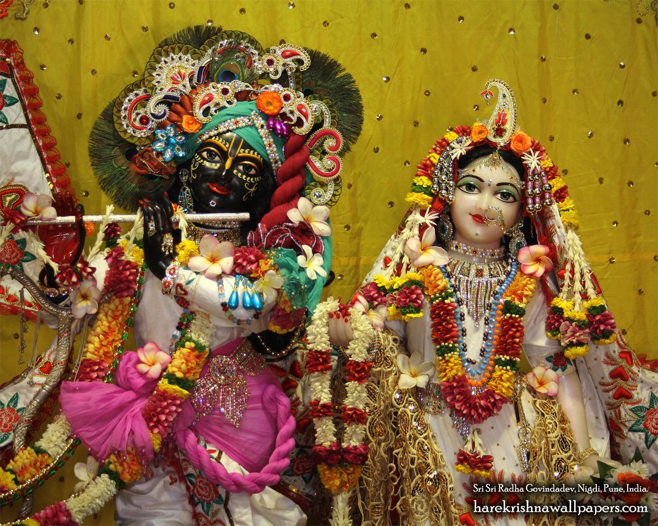 Sri Sri Radha Govind Close up Wallpaper (004) Size 1280x1024 Download