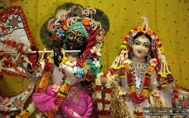 Sri Sri Radha Govind Close up Wallpaper (004) Size 1440x900 Download