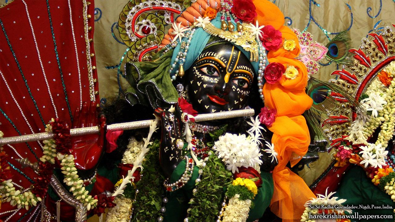 Sri Govind Close up Wallpaper (005) Size 1280x720 Download