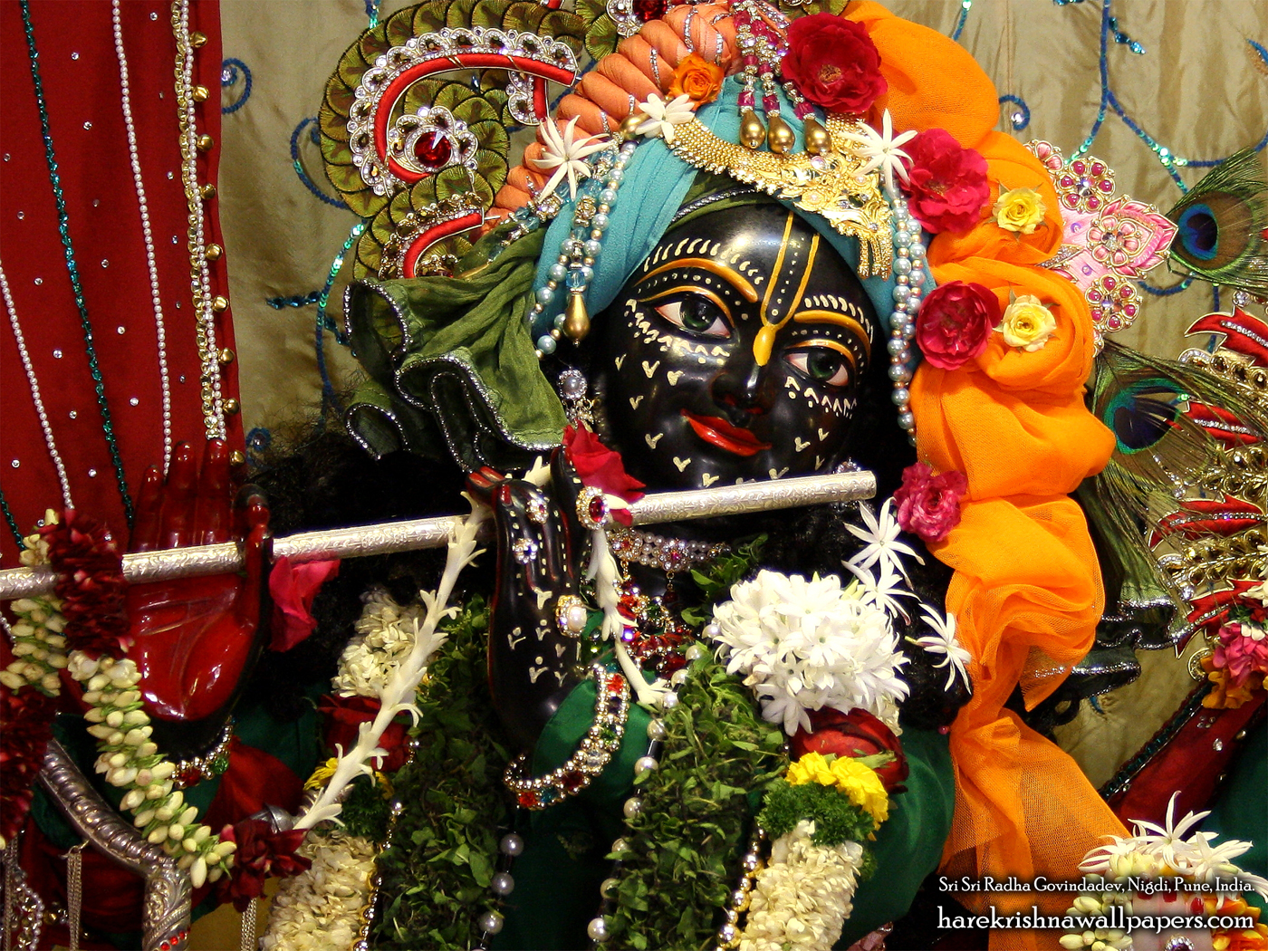 Sri Govind Close up Wallpaper (005) Size 1400x1050 Download