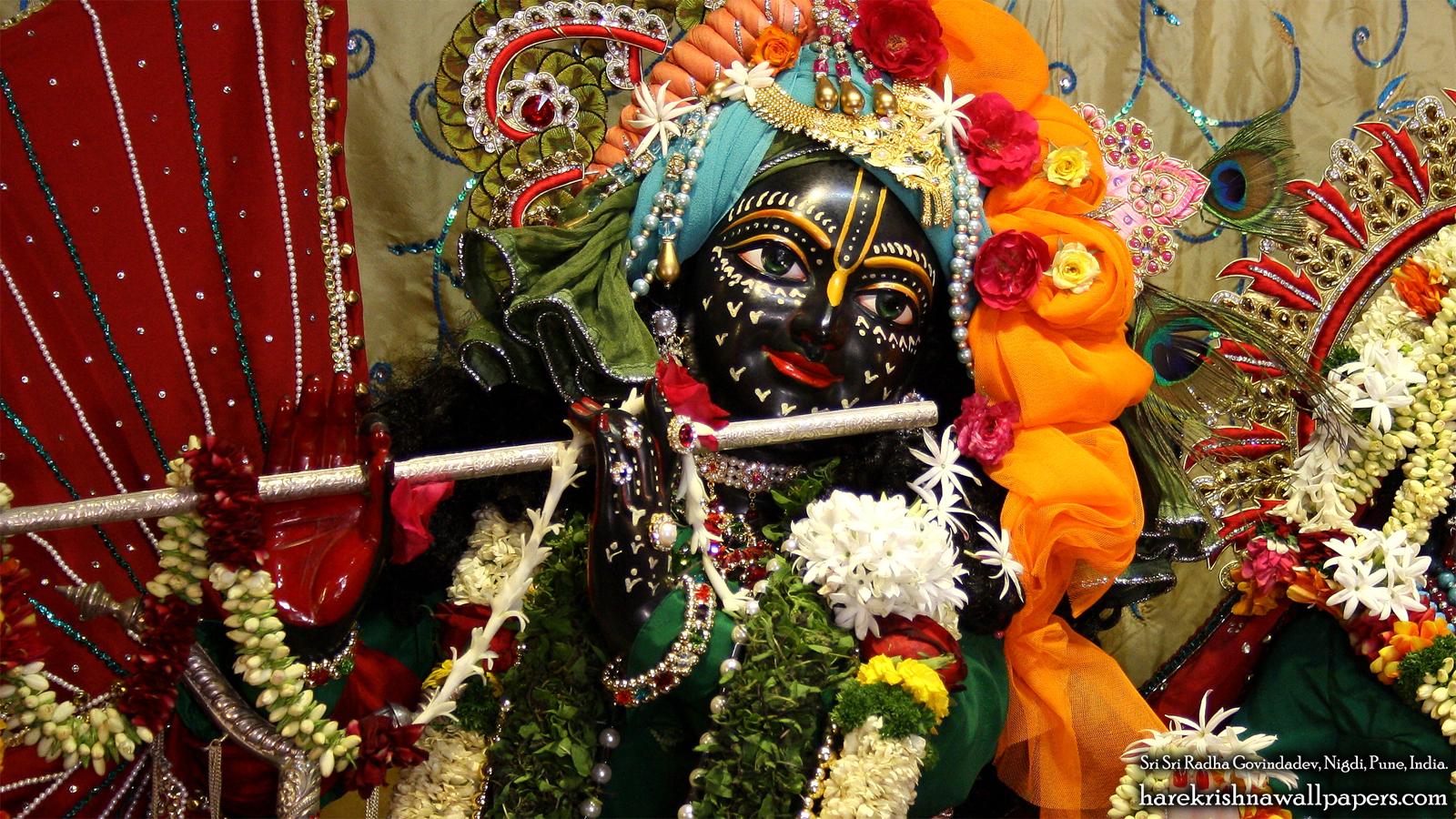 Sri Govind Close up Wallpaper (005) Size 1600x900 Download