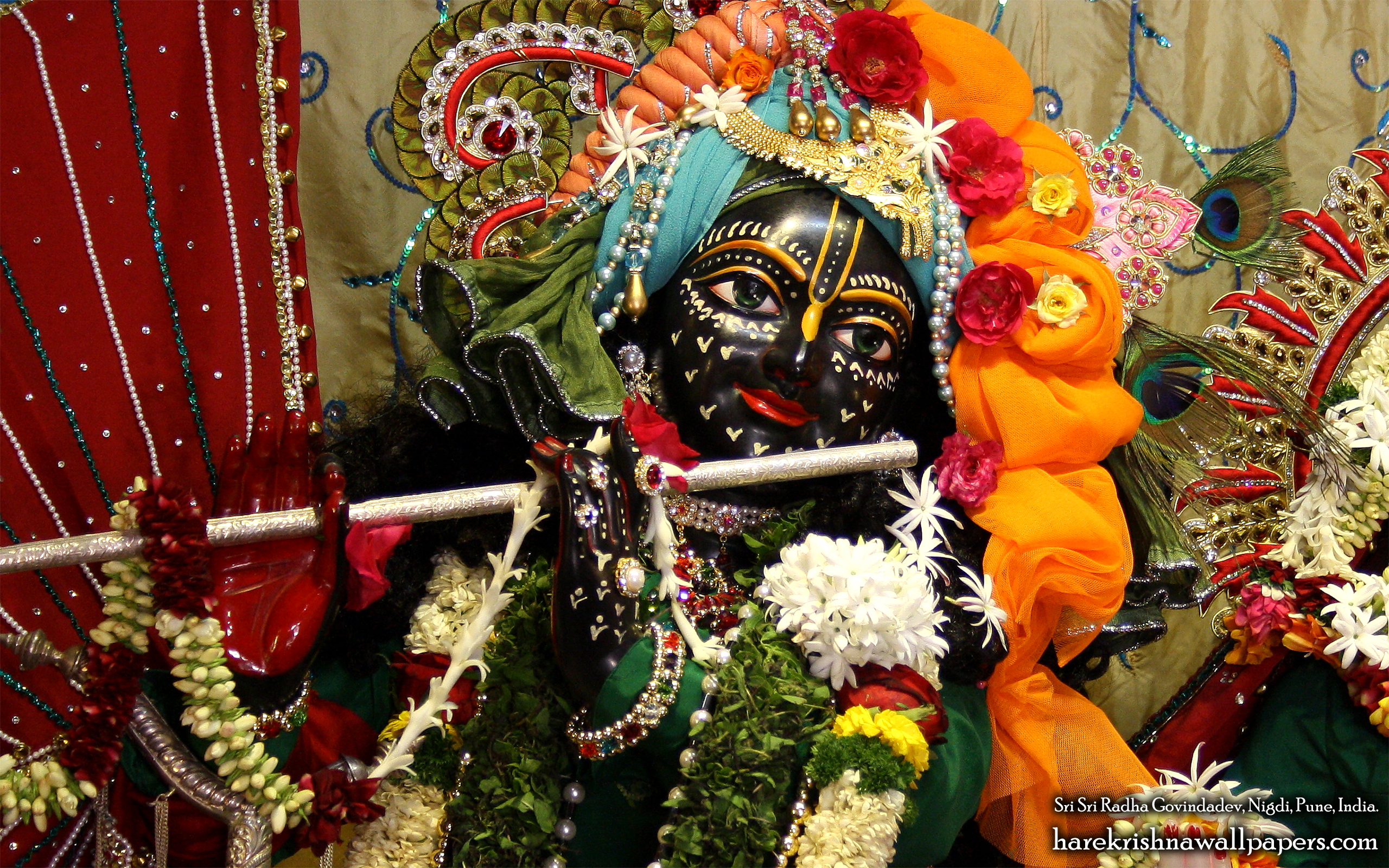 Sri Govind Close up Wallpaper (005) Size 2560x1600 Download