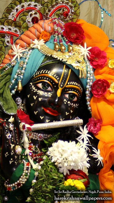 Sri Govind Close up Wallpaper (005) Size 450x800 Download