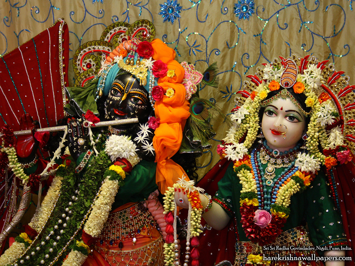 Sri Sri Radha Govind Close up Wallpaper (005) Size 1200x900 Download