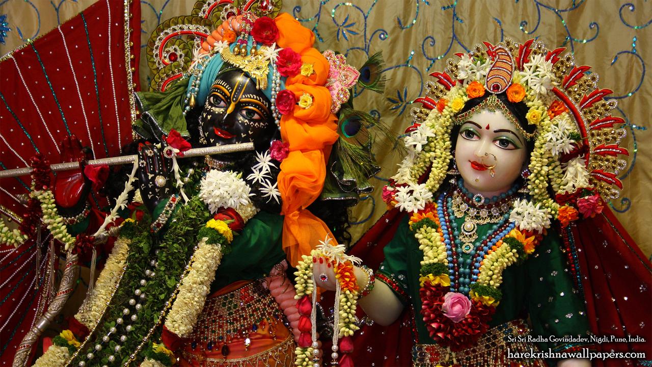Sri Sri Radha Govind Close up Wallpaper (005) Size 1280x720 Download