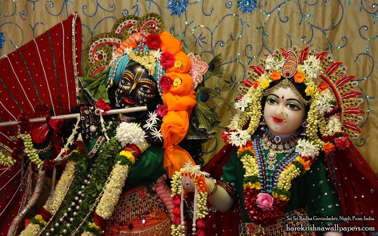 Sri Sri Radha Govind Close up Wallpaper (005) Size 1280x800 Download