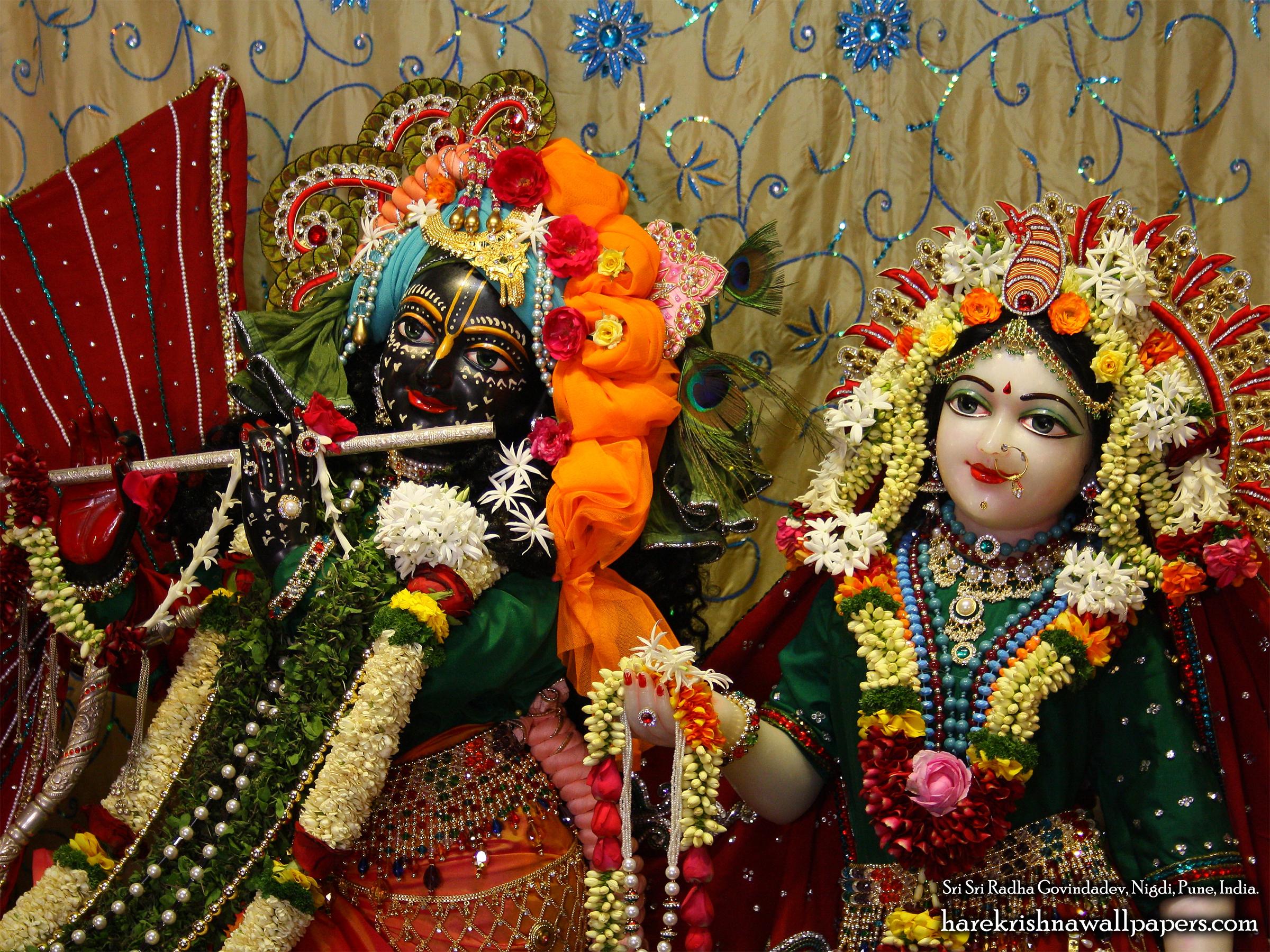 Sri Sri Radha Govind Close up Wallpaper (005) Size 2400x1800 Download