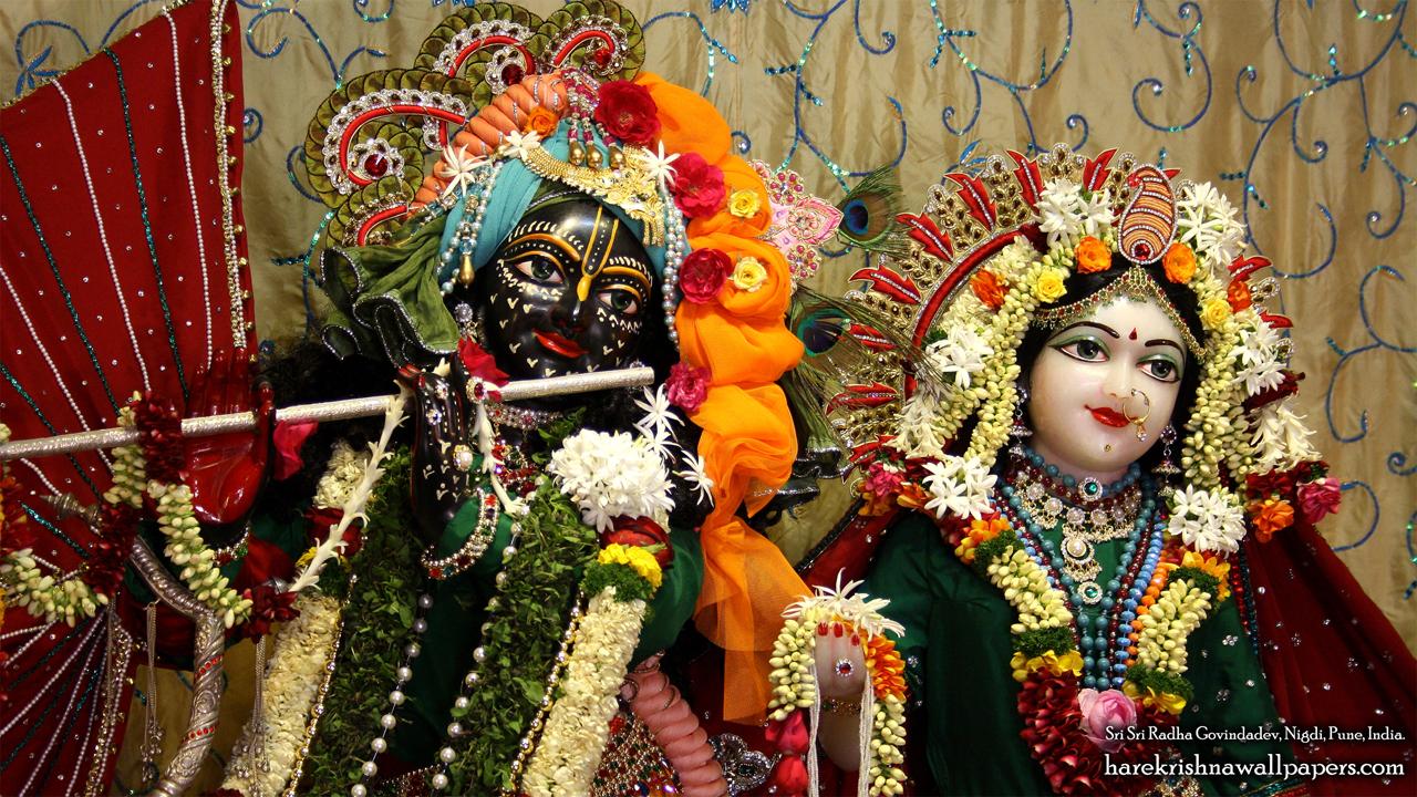 Sri Sri Radha Govind Close up Wallpaper (006) Size 1280x720 Download